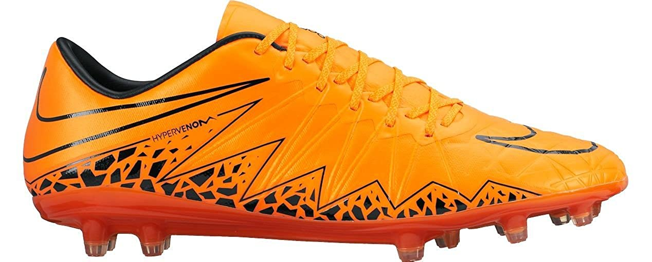 a34d54ebd Nike Hypervenom Phinish FG Soccer Cleat TOTAL ORANGE TOTAL ORANGE-BLACK 7  D(M) US  Buy Online at Low Prices in India - Amazon.in
