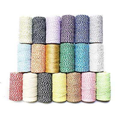Mimi Pack Cotton Baker's Twine (Black) : Office Products