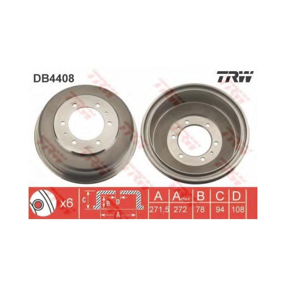 TRW DB4408 Tamburo freno TRW KFZ-Ausrüstung GmbH
