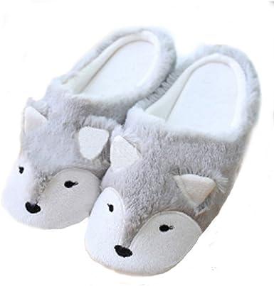Womens Indoor Warm Fleece Slippers