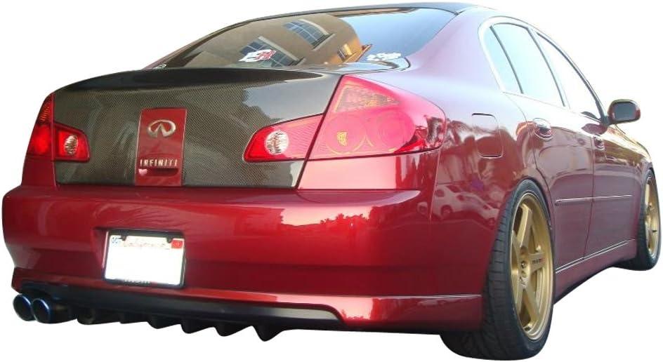 Exterior Accessories Rear Bumper Lip Diffuser Compatible With 2007 ...