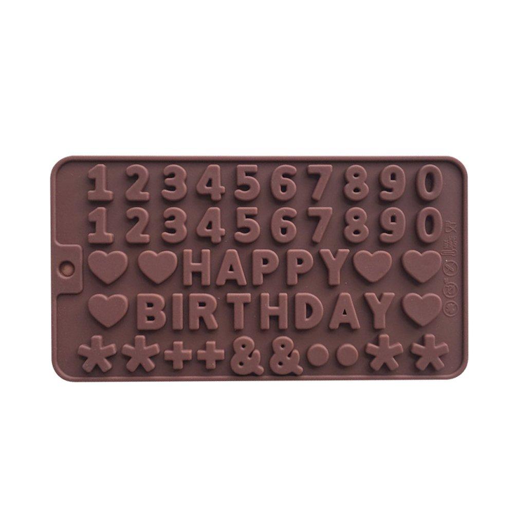 BESTOMZ Caramelo Moldes de silicona Molde de la Forma para chocolate galletas Pastel jabón