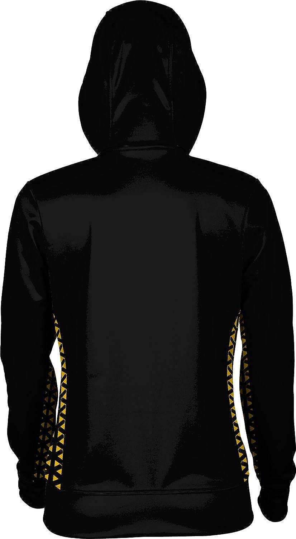 School Spirit Sweatshirt ProSphere Towson University Girls Zipper Hoodie Geometric