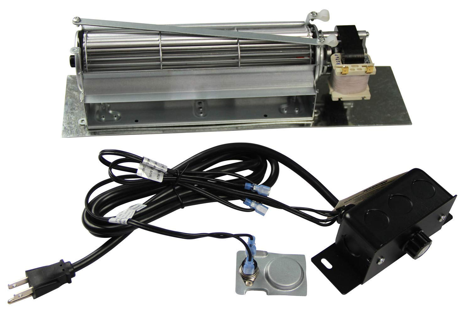 Amazon Com Hongso Fk24 Replacement Fireplace Blower Fan Kit For
