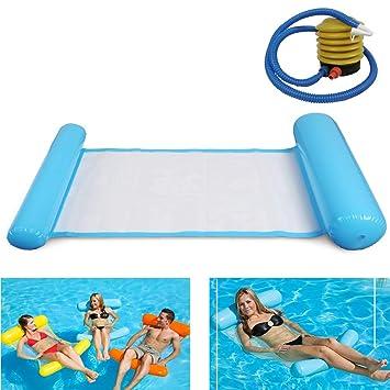Amazon.com: DAN&LAN Portable Swimming Pool Float Hammock ...