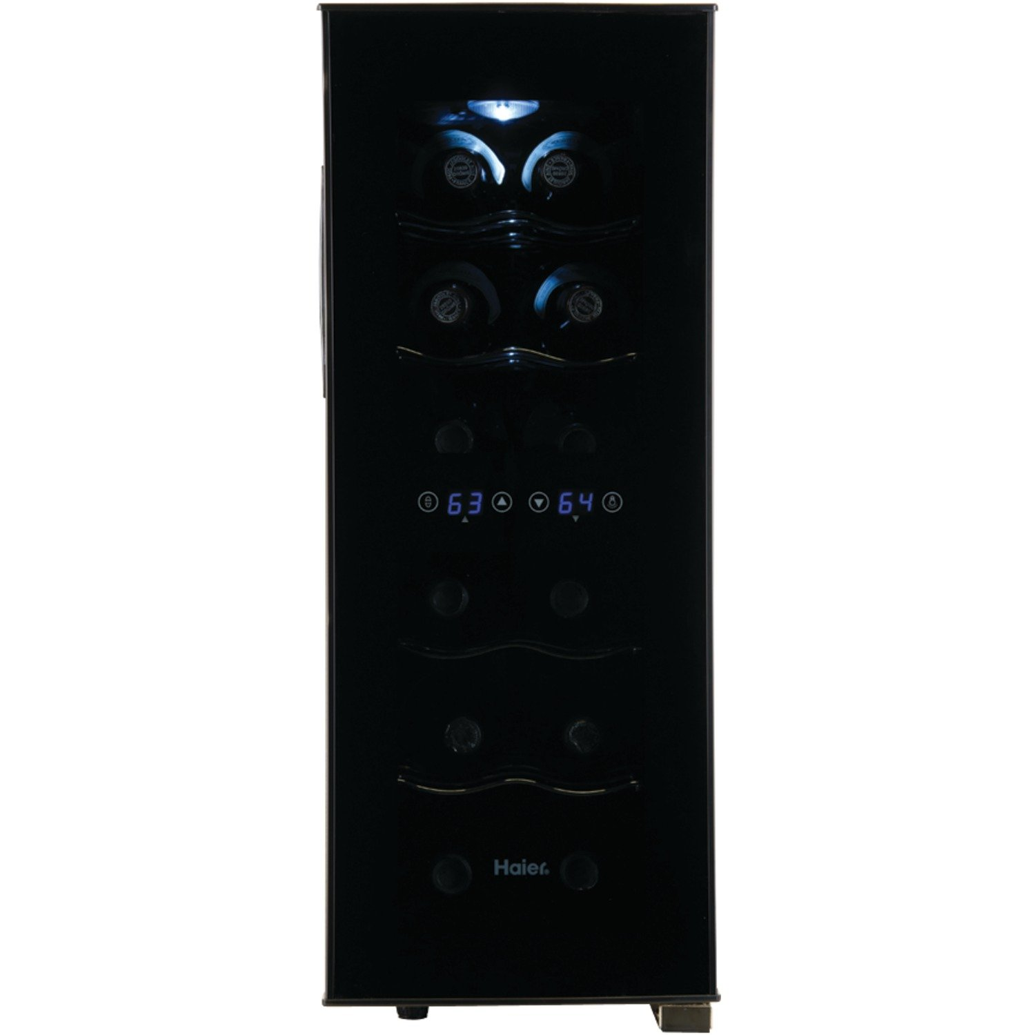 amazoncom haier 6 bottle wine cellar with electronic controls appliances awesome portable wine cellar