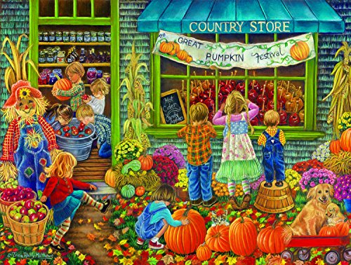 Great Pumpkin Festival 500 Piece Jigsaw Puzzle by SunsOut