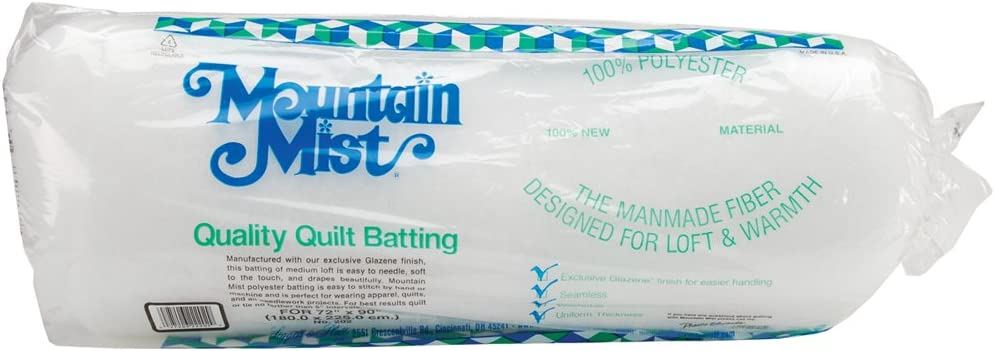 Twin 72-inch-by-90-inch 8.9 x 4 x 22 inches Polyester Quilt Batting