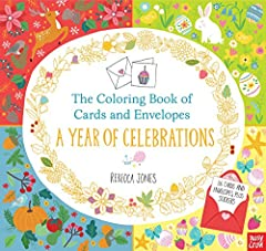 Get creative with this innovative coloring book full of beautifully-designed cards and envelopes to tear out and color all year round.This book includes 36 cards and envelopes to celebrate holidays and other special moments including Valentin...