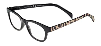 e43f56ea962 Amazon.com  SIGHT STATION Plus 1.50 Black with Cheetah Mila Reading ...