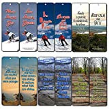 Creanoso Action Inspirational Bookmarks (60-Pack) - Inspiring Motivational Quotes for Success - Stocking Stuffers Gifts for Business Work Coaching School Seminar Events Men Women Adults Teens Kids
