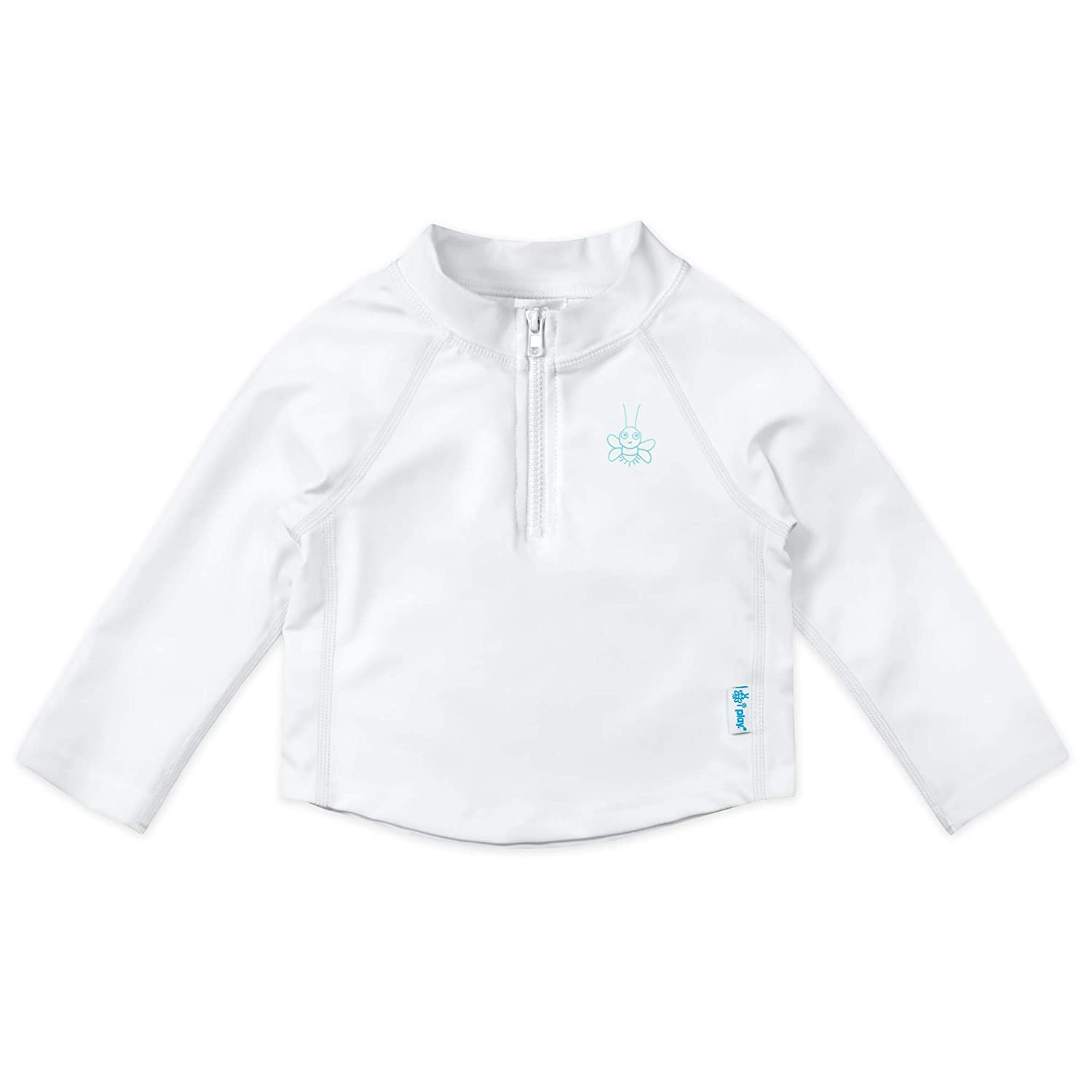 i play Baby /& Toddler Long Sleeve Zip Rashguard Shirt
