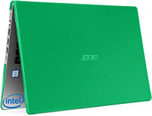 "mCover Hard Shell Case for 15.6"" Acer Aspire 5 A515-43 Series (with AMD CPU) Windows Laptop – A515-AMD Green"