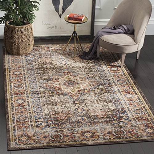 Safavieh Bijar Collection BIJ652D Traditional Oriental Vintage Brown and Rust Area Rug (9′ x 12′) Review