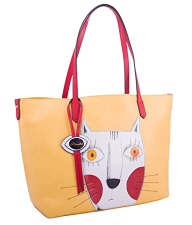 Animal Handbags for Women Leather Crossbody Cute Tote Shopping Purse Large  Shoulder Bag Yellow by QIANBH  Amazon.in  Bags 2f102413f78e5