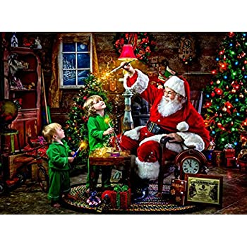 Ceaco Classic Christmas Puzzle Santa S Magic Paint Puzzle