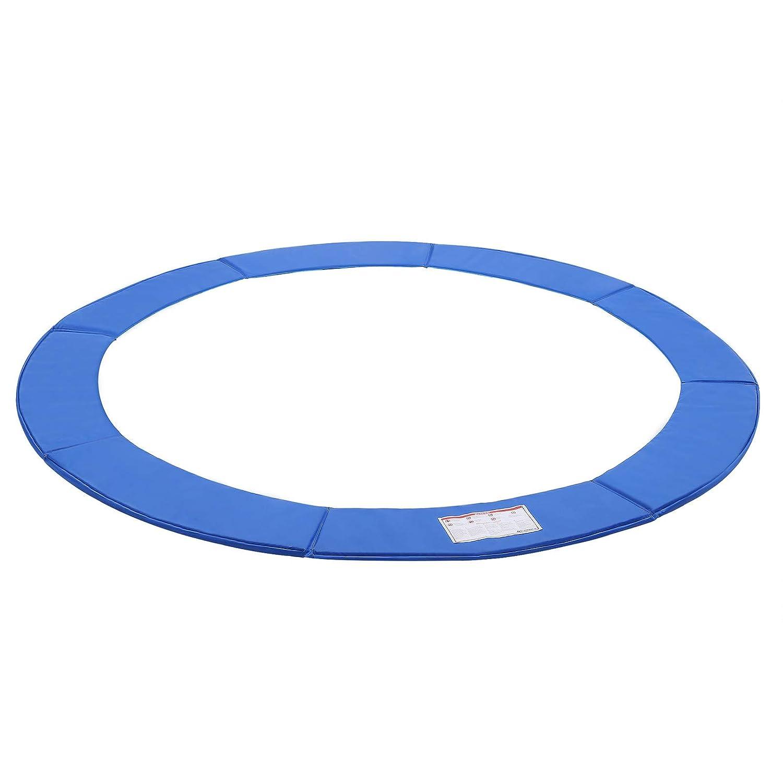 305 366 cm PVC Largeur 30 cm /Épaisseur 2 cm Anti-UV SONGMICS Coussin de Protection pour Trampoline /ø 244