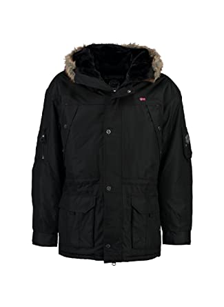 a3cf548a48c0 Geographical Norway - Parka Homme Anaconda Noir  Amazon.fr ...