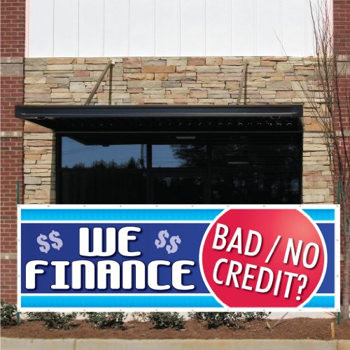 Auto Sales Banner Finance Grommets product image