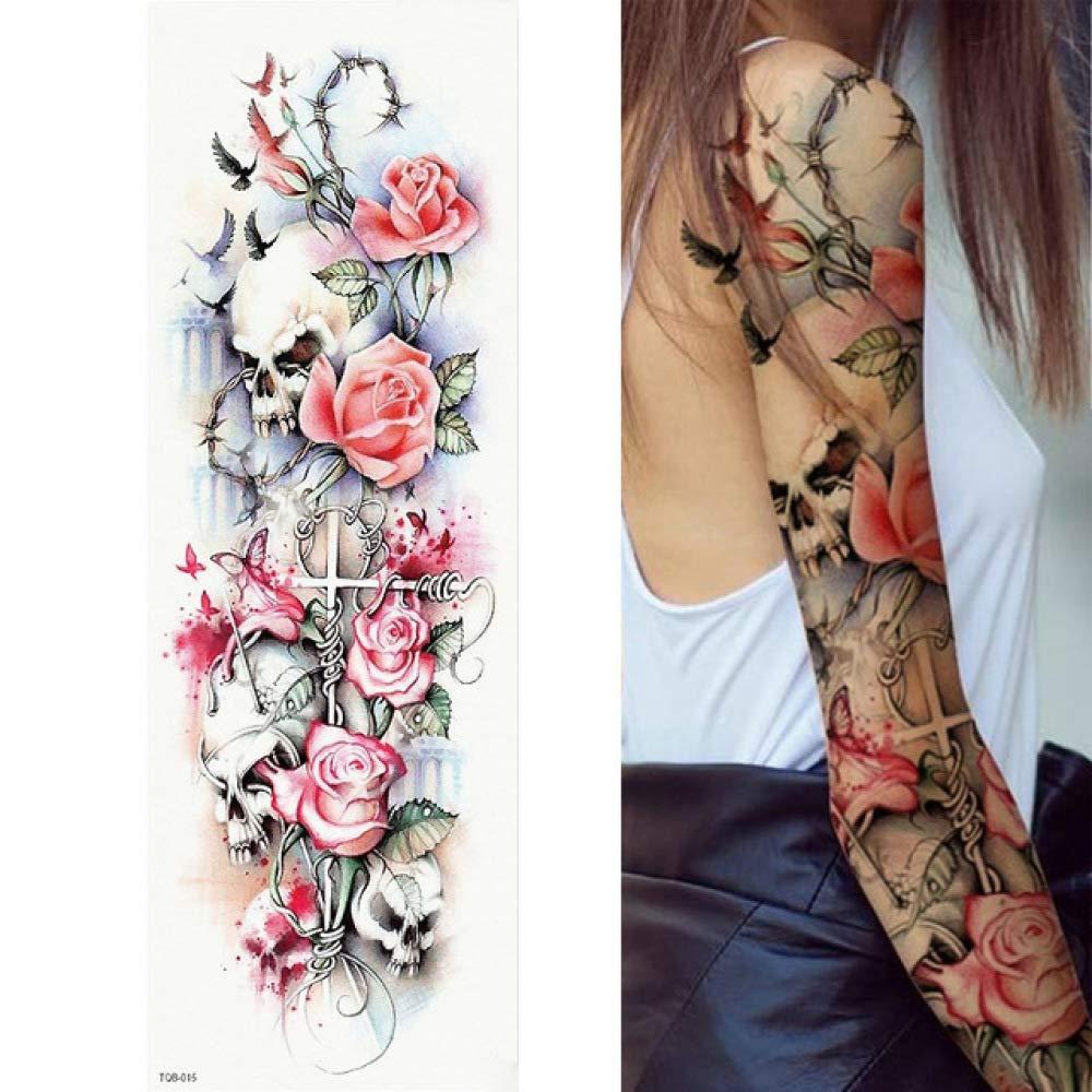 7pcs etiqueta engomada del tatuaje del tatuaje barato Hojas ...