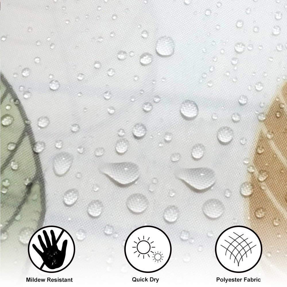 Duschvorhang 240x200 Wasserdichter,Duschvorhang Antischimmel Bad Duschvorh/änge Waschbar Badewanne Vorhang Badvorhang Polyester H/ängen Shower Curtains mit 14 Duschvorhanghaken f/ür Badzimmer