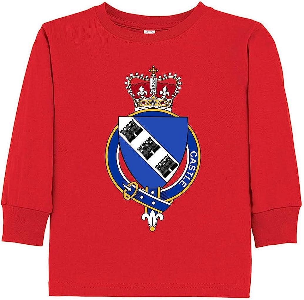 Tenacitee Toddlers English Garter Family Castle Long Sleeve T-Shirt