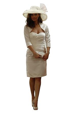 kleid mit bolero jacke