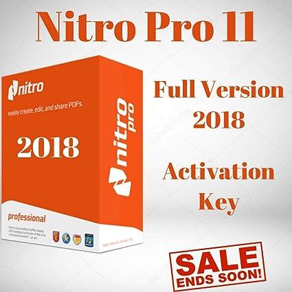 nitro pro 11 key free download