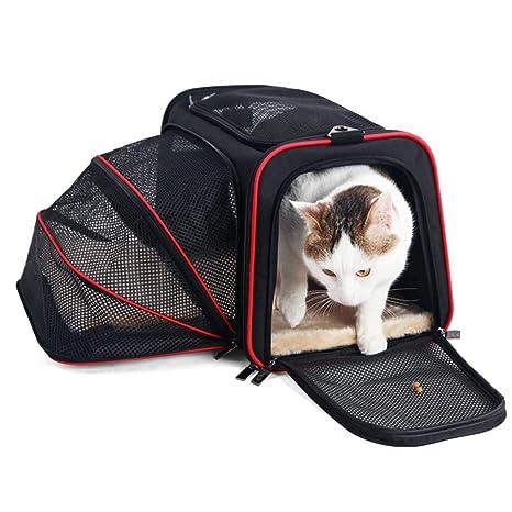 Mochila plegable para gatos Bolsa para mascotas portátil Pequeño y ...