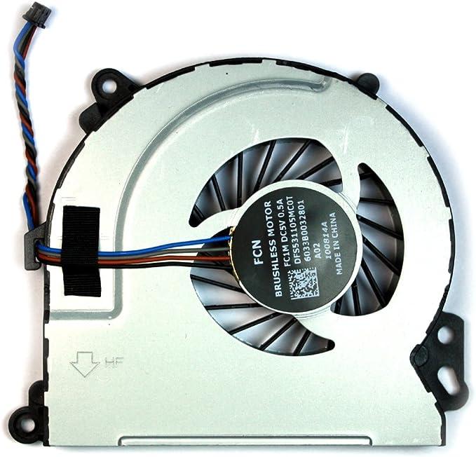HP Envy 17-n113nf HP Envy 17-n112TX Power4Laptops Replacement Laptop Fan for HP Envy 17-n111TX HP Envy 17-n113na HP Envy 17-n111ur