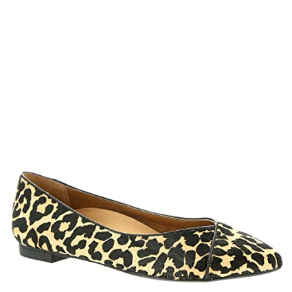 VIONIC Women's Caballo Flat Tan Leopard 8 W tuP4aFh