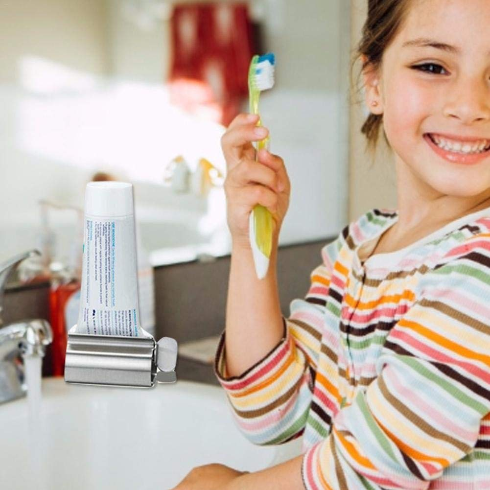 Runningfish Tubenquetscher Maschine aus Metall Farbe Kleber Kosmetik Haargel Zahnpasta Lebensmittel Tubenpresse Tubenausdr/ücker Ausquetscher