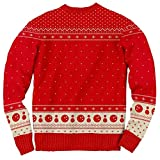 The Big Lebowski The Dude Abides Ugly Christmas Sweater (Large)