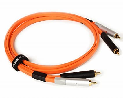 Oyaide D+ Class A RCA Cables 2.0m Orange