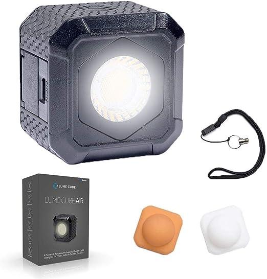 Lume Cube Air Iluminación Led Mini para Smartphone, Cámara, Drone Y Gopro, Negro: Amazon.es: Electrónica