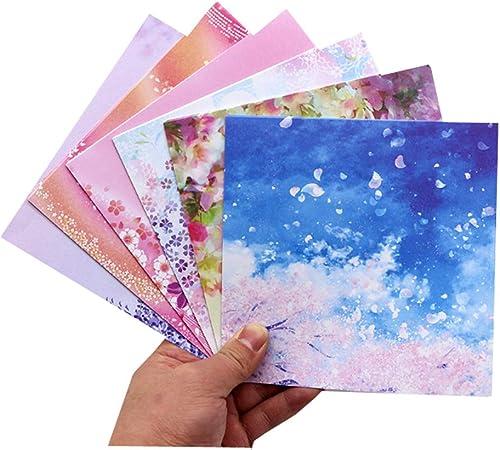 Amazon.com : Toyo Origami Paper Single Color - Rose Pink - 15cm ... | 450x501
