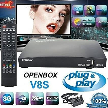 Latest Openbox SV8 renamed Skybox F5S Satellite HD PVR FreeSat Receiver