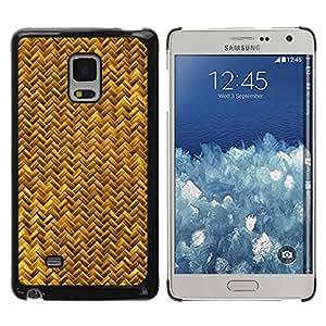 iKiki Tech / Estuche rígido - Scales Gold Yellow Snake Bling Chevron - Samsung Galaxy Mega 5.8 9150 9152
