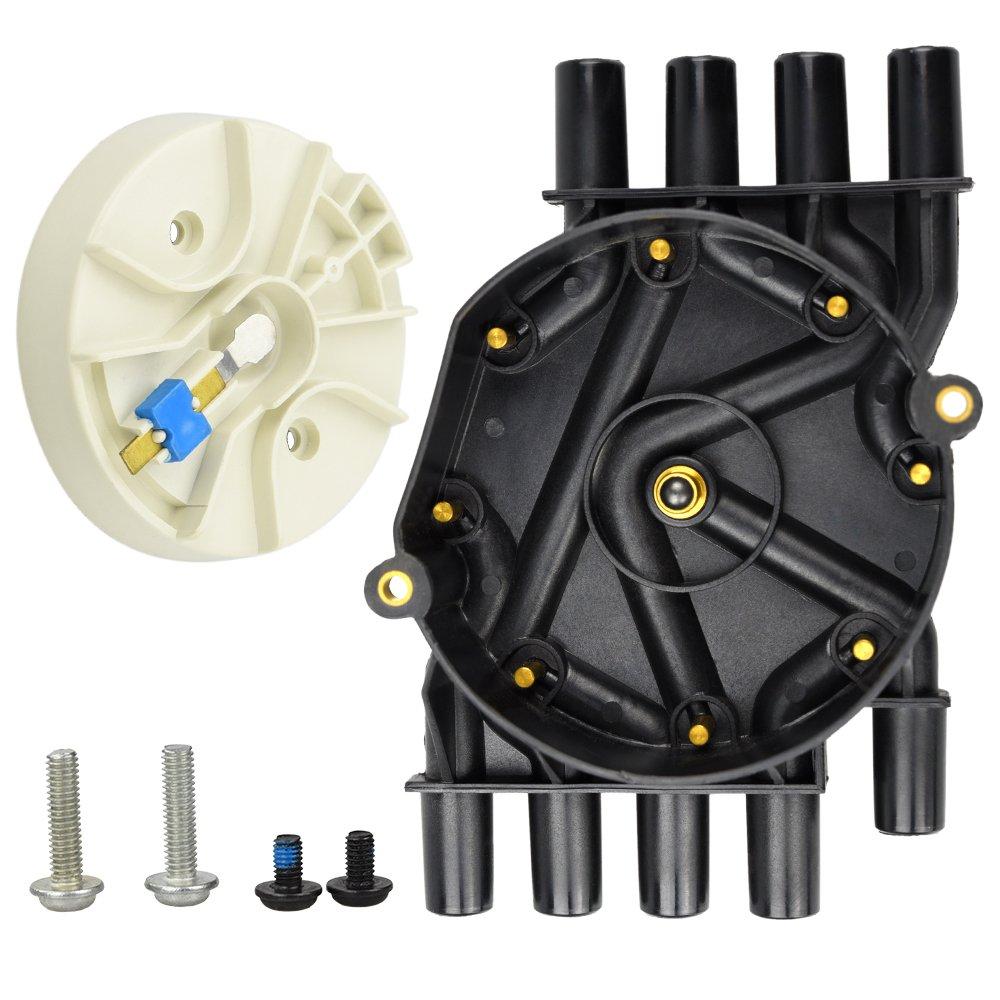 DR474 DR331 Distributor Cap W/Rotor Kit For Chevrolet GMC Tahoe Vortec V8 5.7L Hangcheng