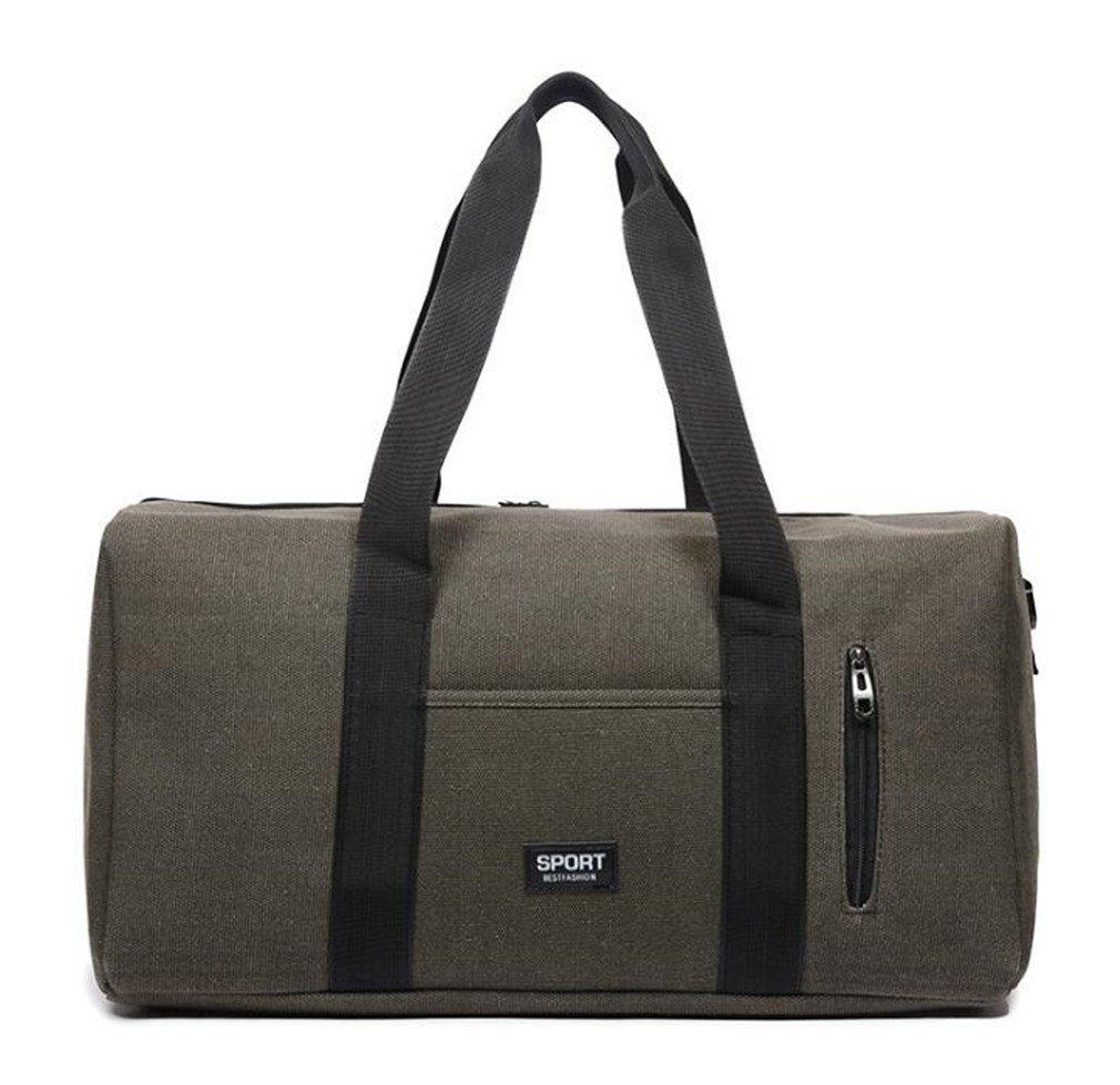 Breadaye Waterproof Size Gym Bag Sports Bag Men Women Training Travel Handbag Fitness Shoulder Crossbady Bag Grey by Breadaye