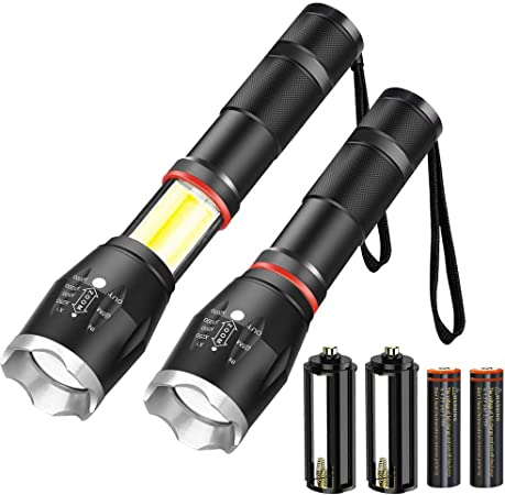 4 X NEW 24 LED WORK OUTDOOR LIGHT TORCH DARK CAMPING FLASHLIGHT BRIGHT MAGNETIC