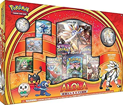 Pokemon TCG: Alola Solgaleo Collection Box