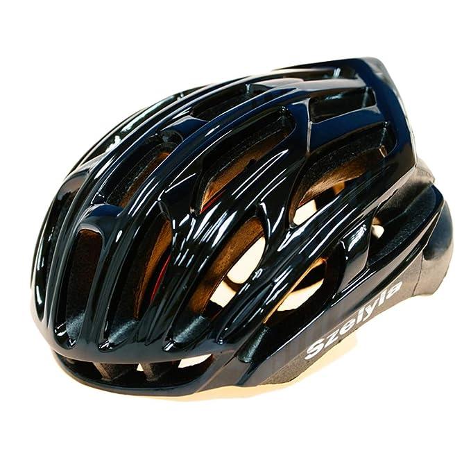 Qianliuk Bicicleta de montaña Casco breathble y Ajustable Casco de Bicicleta tamaño Forma 54-58 cm: Amazon.es: Deportes y aire libre