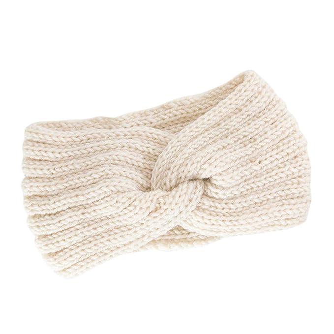 5049711e6eca1c OSYARD Damen Mädchen Stirnband Kopfband Headband, Frauen Strick Stirnband  Ohrwärmer Winter Kopfband Haarband,Twisted