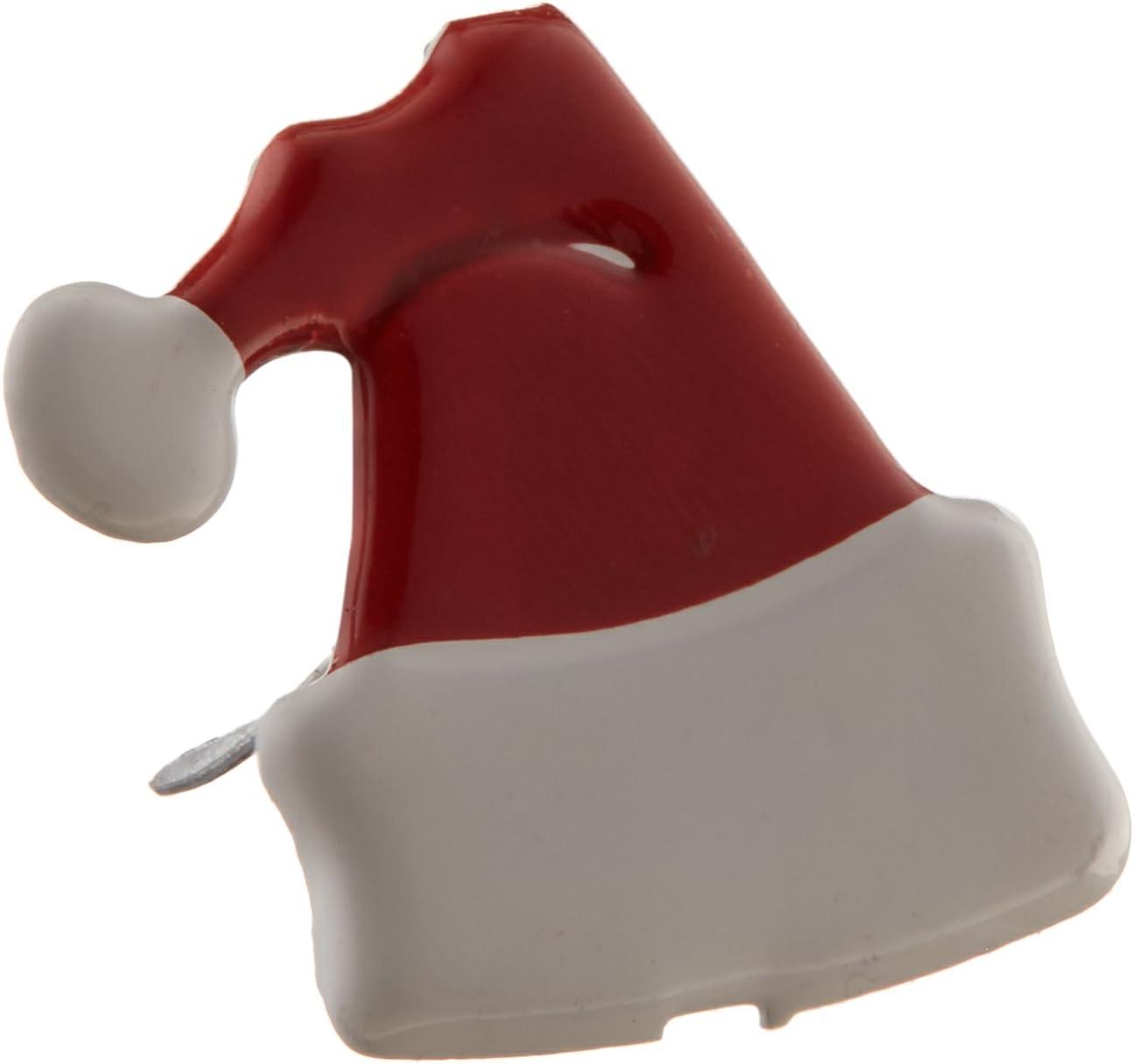 Eyelet Outlet Shape Brads 12//Pkg-Santa Hats