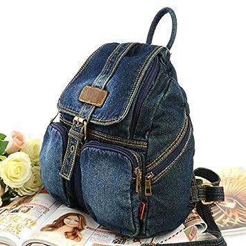 Amazon.com: Fashion Women backpack vintage backpacks for teenage ...