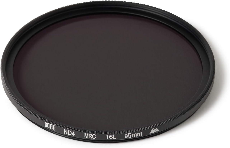 ND Lens Filter 2 Stop 2Peak Gobe 67mm ND4