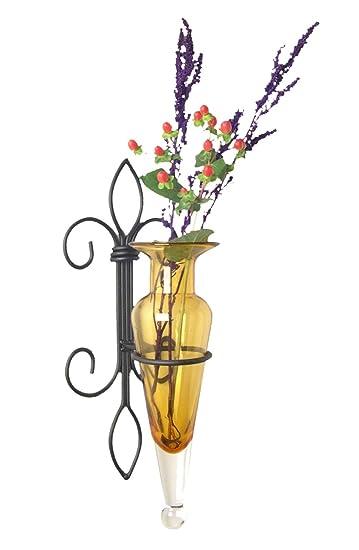 Amazon Danya B A043 A Fleur De Lis Home Decor Iron And Glass