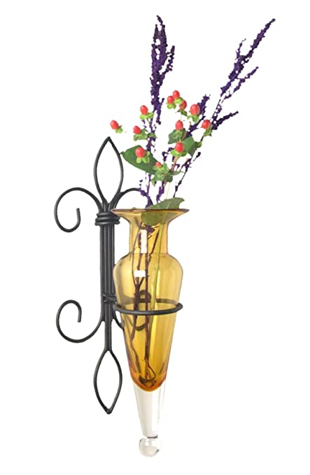 Amazon Danya B A043 A Fleur De Lis Home Decor Iron And Glass