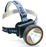 Eornmor 3000 Lumen Bright Headlight Headlamp Flashlight Torch T6 CREE LED with Rechargeable Batteries 2600 feet waterproof IPX4 Headlamp